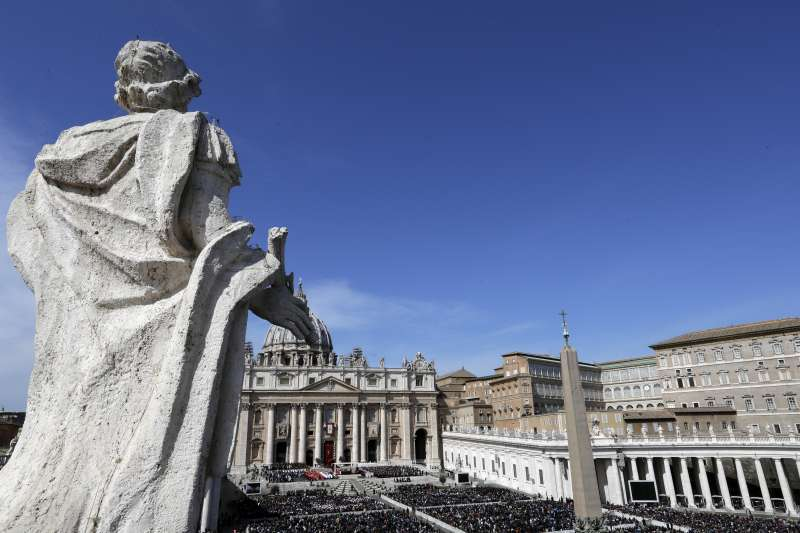 教廷官方媒體「梵蒂岡新聞」宣布,教廷22日已與中國簽署了一份針對主教任命問題的臨時性協議。(資料照,美聯社)
