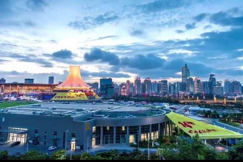 新南向研究兩岸大車拚,台灣略遜一籌。圖為中國─東盟博覽會。(資料照)
