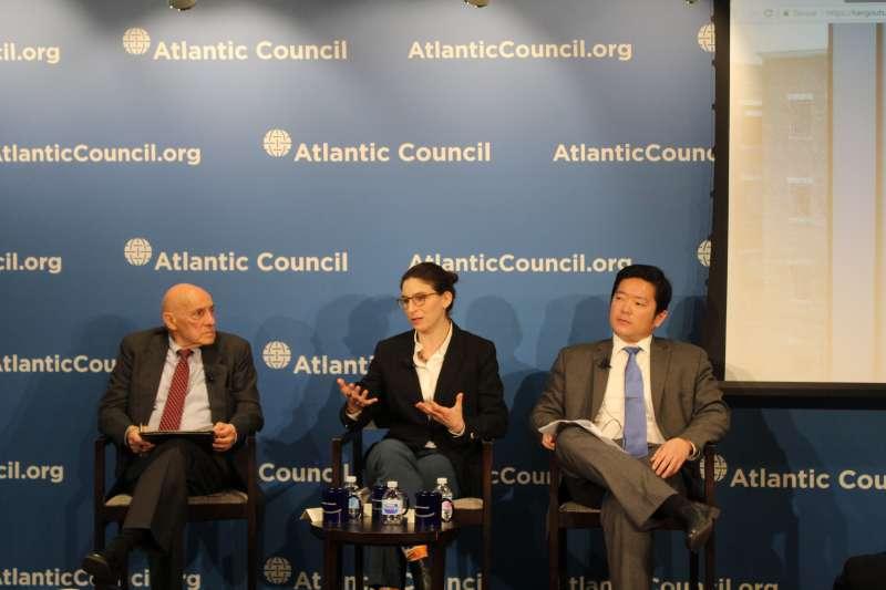 美國大西洋理事會舉行中國-台灣及社交媒體座談會。(大西洋理事會官網)