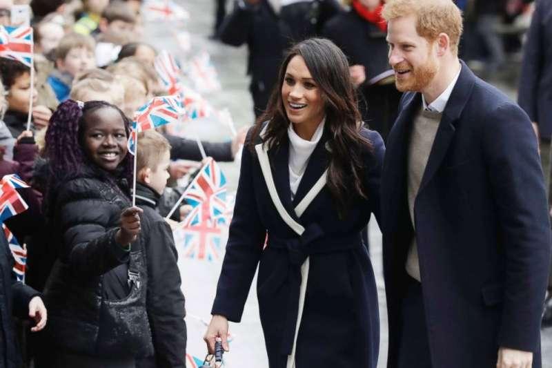 英國哈利王子與梅根將在5月19日舉行婚禮(美聯社)