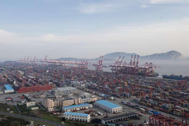 中美貿易戰開打。(美聯社)