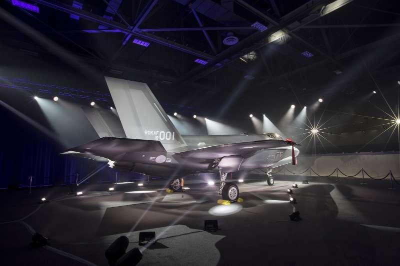 南韓空軍的首架F-35A出廠儀式28日在美國德州沃斯堡舉行。(洛克希德馬丁官網)
