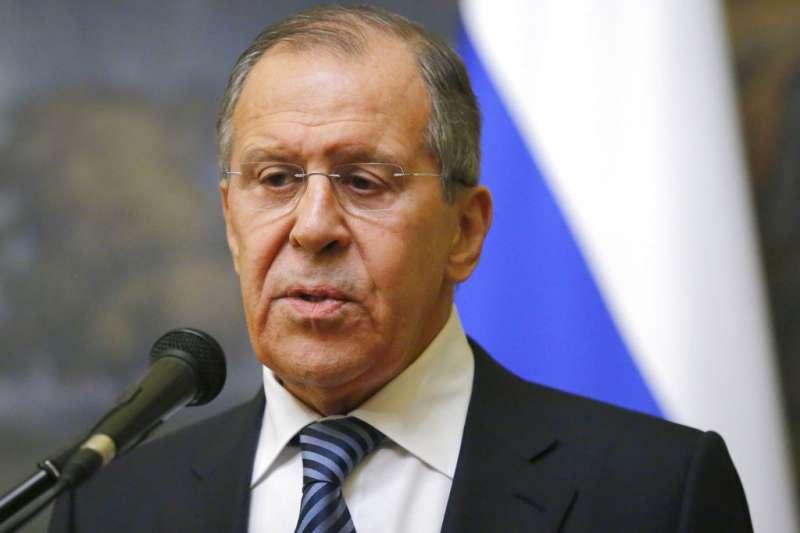 俄羅斯外交部長拉夫羅夫29日宣布,將驅逐逾150名西方國家外交官。(AP)
