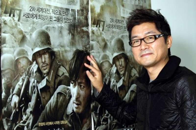 《太極旗-生死兄弟》韓國導演姜帝圭。(圖/高雄市政府文化局提供)