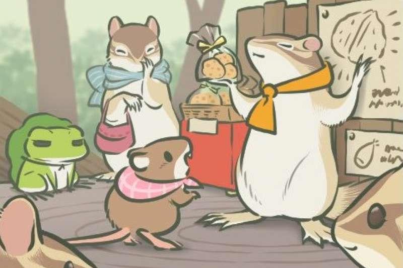「旅蛙」獨家代理權被阿里巴巴拿下,之後會看到蛙蛙遊長城嗎?(圖/取自旅蛙遊戲畫面)