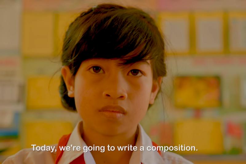 爭取參與今年的WHA,外交部特別製作微電影「阿巒的作文課」,觀看次數至今已達471萬人次。(截圖自YouTube)