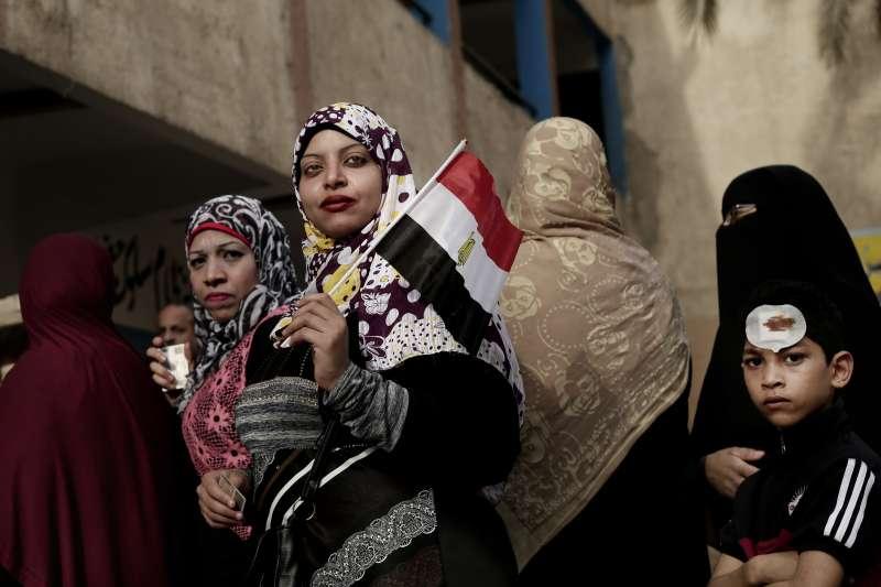 2018年3月,埃及進行總統大選。(美聯社)