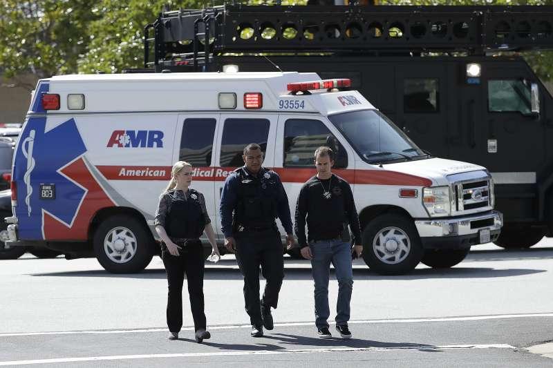 2018年4月3日,YouTube位於加州聖布魯諾的總部遭到攻擊,造成多人傷亡(AP)