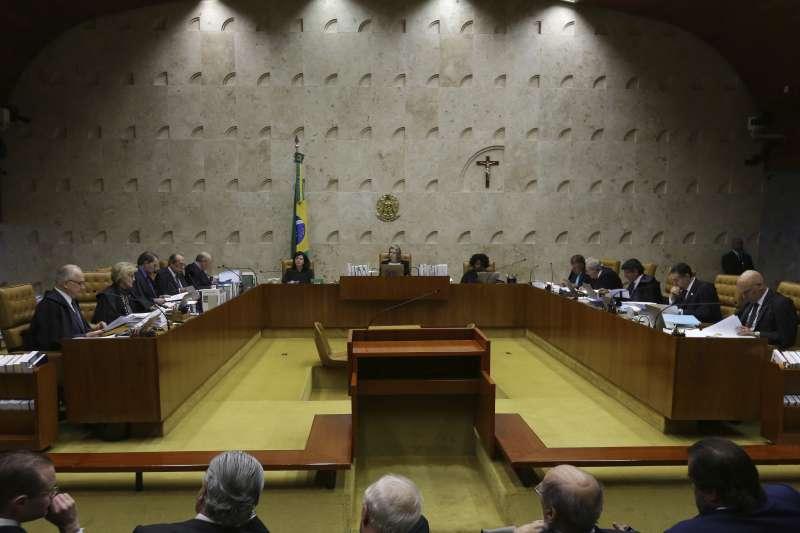 巴西聯邦最高法院駁會魯拉的人身自由保護令聲請,魯拉隨時有可能坐牢。(美聯社)