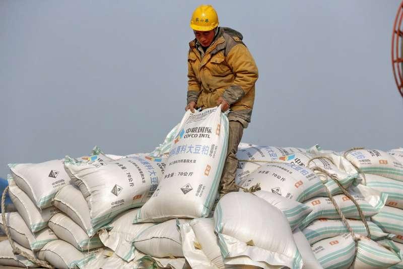 大豆成為中美貿易戰的焦點。(美聯社)