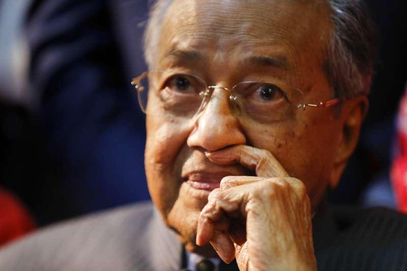 馬哈迪下台後,馬來西亞政界一團混亂。(AP)