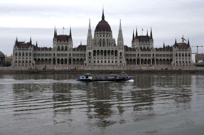 匈牙利國會。(美聯社)