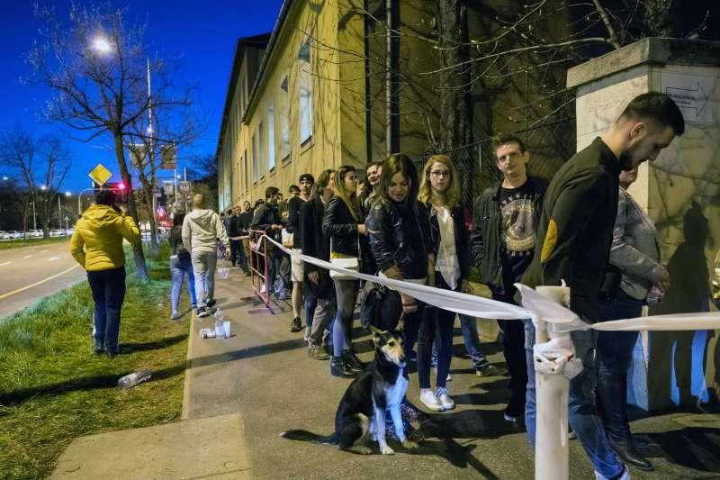 2018年4月8日,匈牙利舉行國會大選(AP)