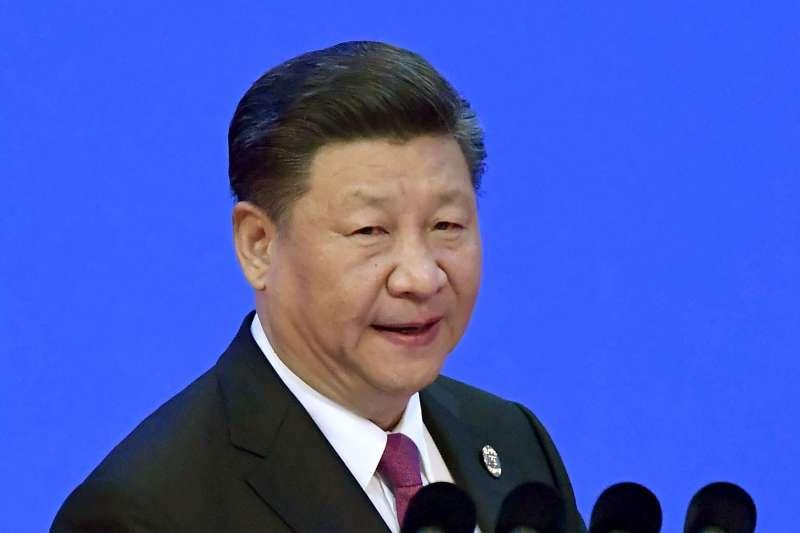 2018年4月10日,中國國家主席習近平在博鰲論壇開幕發表演說(AP)