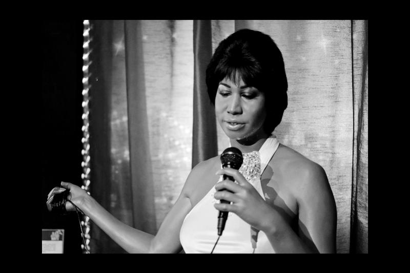 滾石雜誌史上百大歌手第一名─Aretha Franklin。(圖/Aretha_Franklin@wiki)
