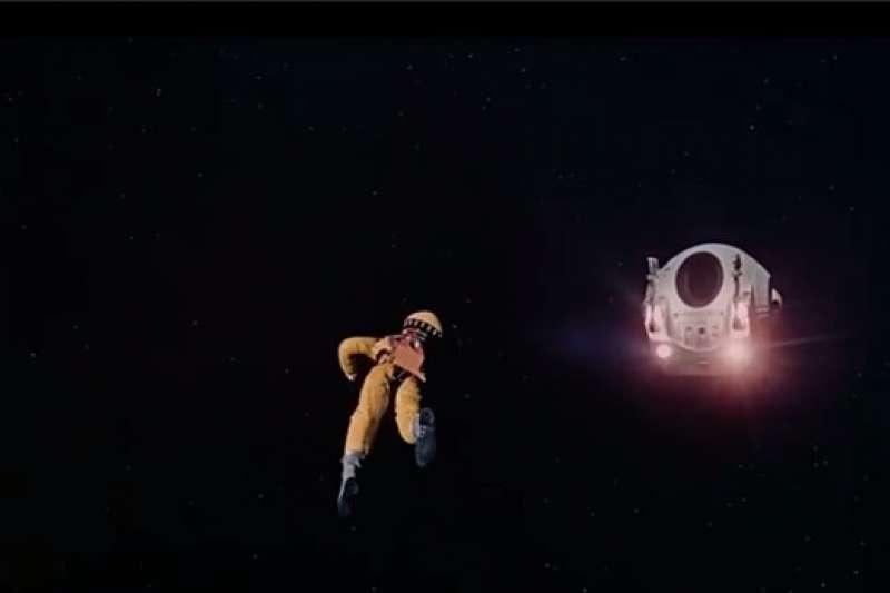 《2001太空漫遊》劇照。(圖/澎湃新聞提供)