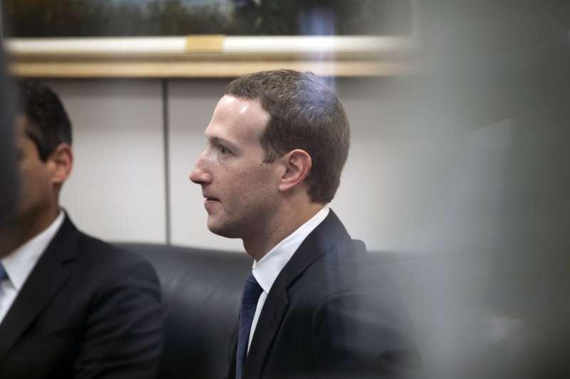 臉書創辦人兼執行長祖克柏(Mark Zuckerberg)(AP)