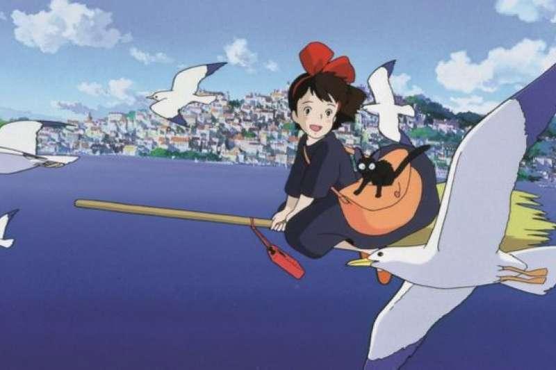 《魔女宅急便》改編的動畫電影是吉卜力工作室最受愛戴的作品之一。(BBC中文網)