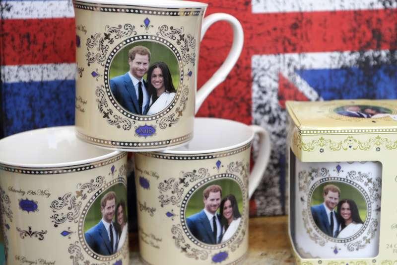 英國哈利王子與未婚妻梅根將於5月19日舉行婚禮(美聯社)