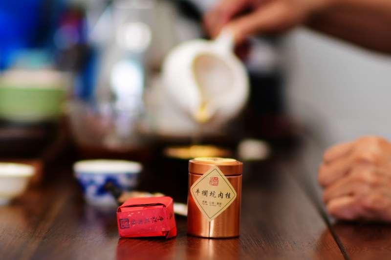 號稱極品武夷岩茶的「牛欄坑肉桂」(新華社)