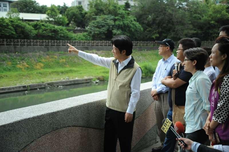 20180414-行政院長賴清德14日率媒體參訪花蓮。(行政院提供)