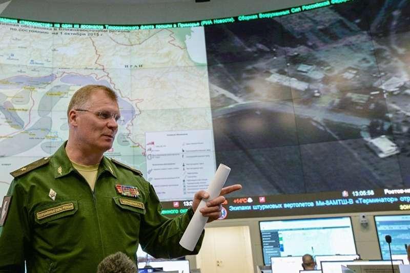 俄國防部表示,俄羅斯已經掌握英國直接參與組織東古塔區挑釁活動的證據。(俄羅斯衛星通訊社)