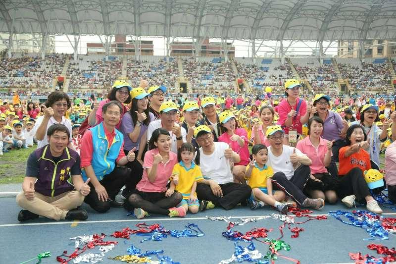 行政院祭出「準公共化托育補助」,外傳每個孩子將補助6000元,第三個再加碼1000元。(資料照,北市府提供)
