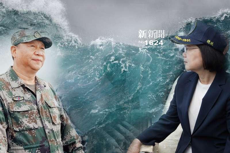中美航母對峙後,台灣總統出訪時,中國發動武嚇