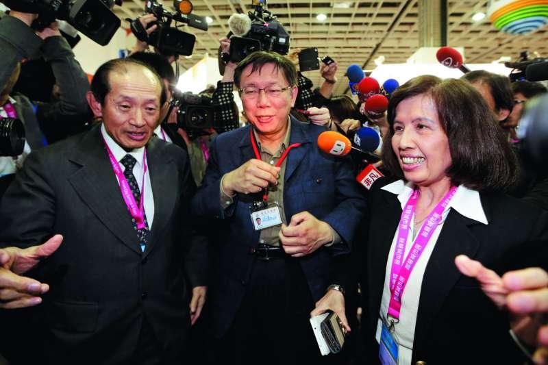 林郭文艷(右)的大同和台灣許多政府單位都有合作。(新新聞資料照)