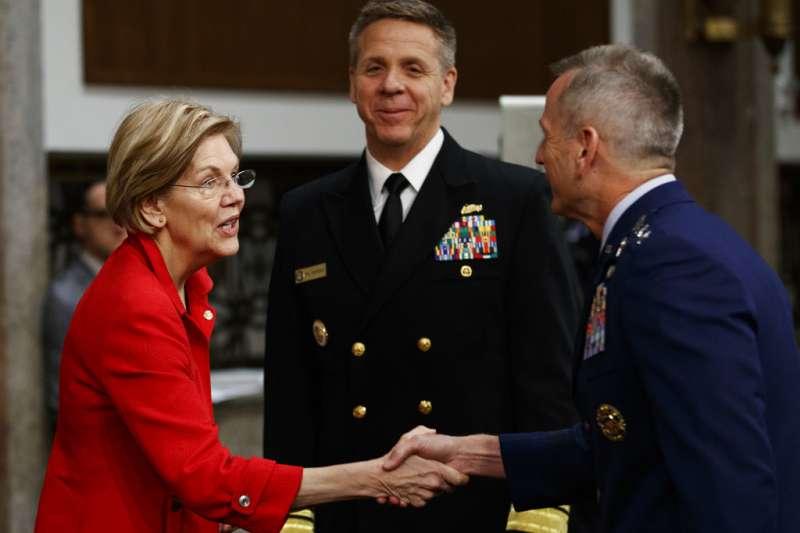 被提名為美軍太平洋司令部司令的海軍上將菲利普・戴維森。(美聯社)