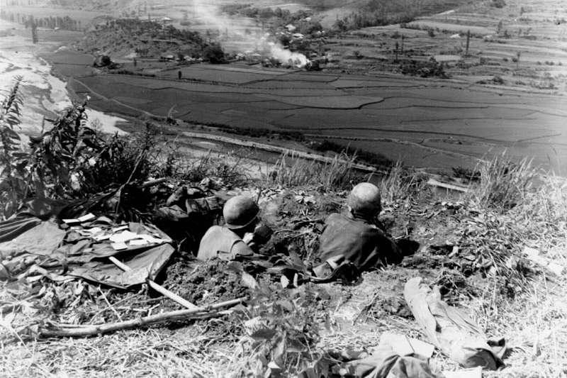 韓戰(維基百科/公有領域)