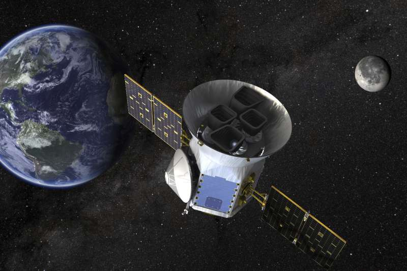 美國航太總署(NASA)太陽系外行星探測器「黛絲」(TESS)(AP)