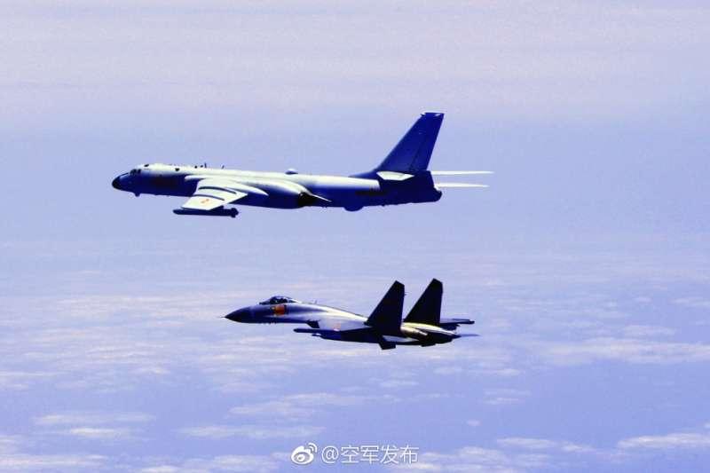 (中國空軍官方微博)