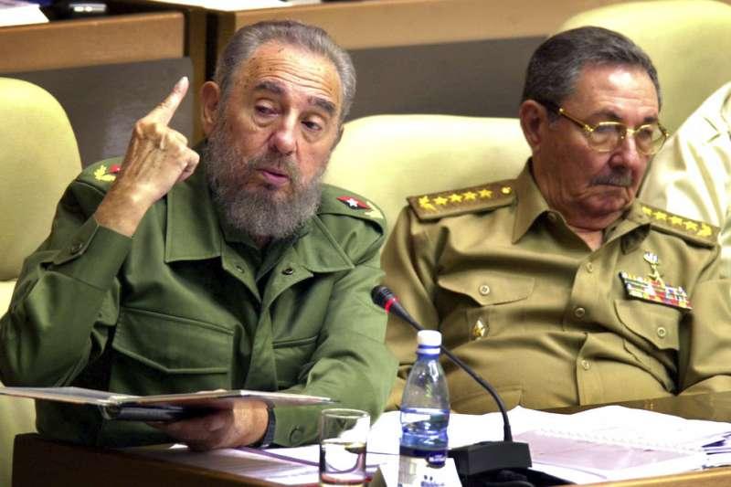 統治古巴一甲子的卡斯楚兄弟。(美聯社)