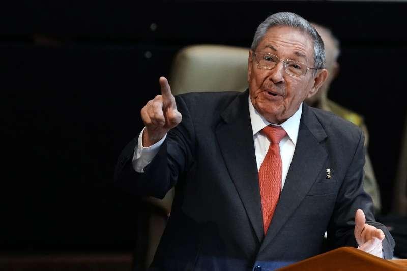 古巴前總統勞爾.卡斯楚。(美聯社)