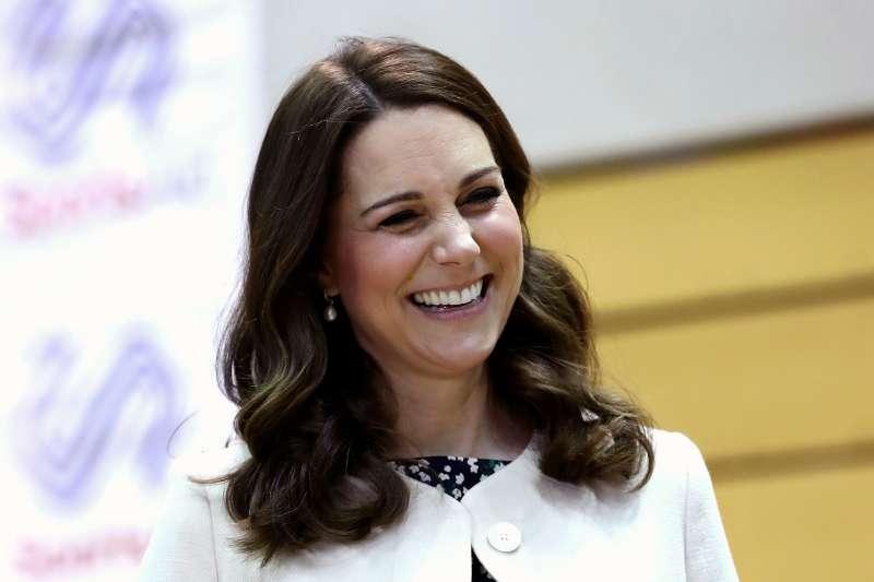 2018年4月23日,英國王室再傳喜訊,凱特王妃三度臨盆,住進倫敦帕丁頓(Paddington)聖瑪莉醫院(St Mary's Hospital)(AP)