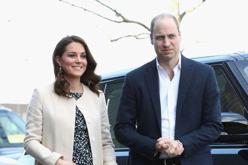 2018年4月23日,英國王室再傳喜訊,太子妃凱特三度臨盆,住進倫敦帕丁頓的聖瑪莉醫院(AP)