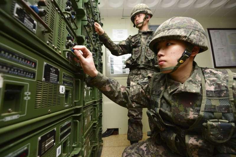 南韓的阿兵哥役期可望縮短。(美聯社)