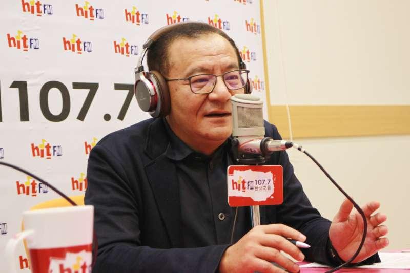 綠委高志鵬24日接受廣播專訪,並表示年底選戰關鍵將以「投票率」決定輸贏。(Hit Fm《蔻蔻早餐》製作單位提供)