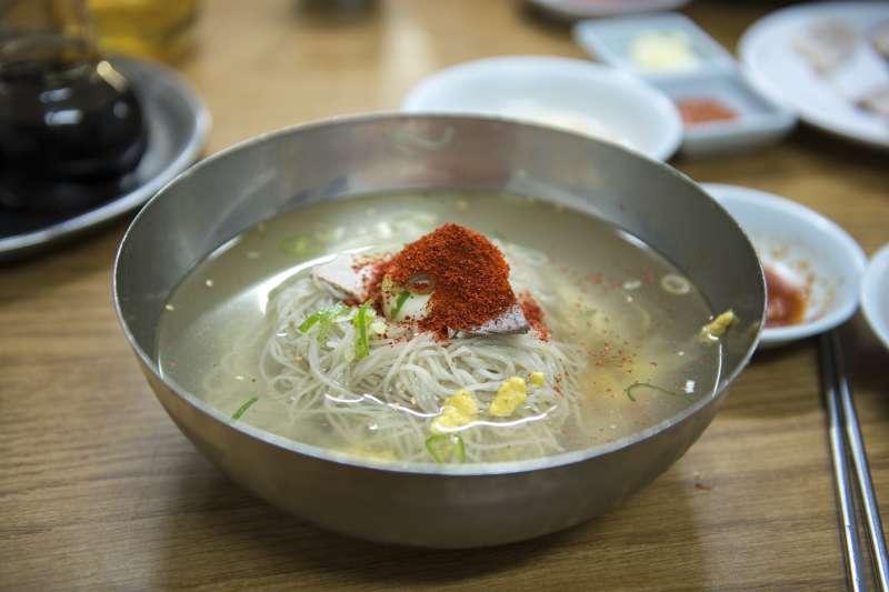 北韓料理平壤冷麵,南北韓峰會。(pixabay)