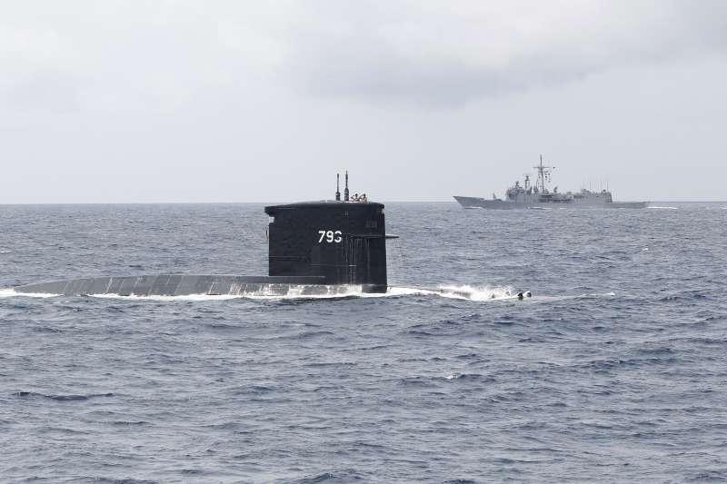 潛艦案在諸多疑點未能釐清下,將成為2020年大選被檢驗的議題。圖為台灣海軍「海龍號」潛艦。(美聯社)