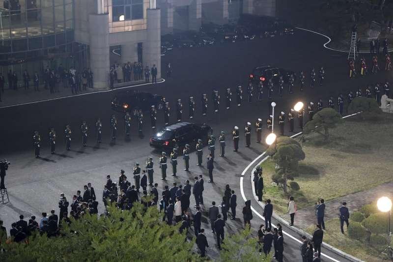 2018年4月27日,兩韓板門店峰會(AP)