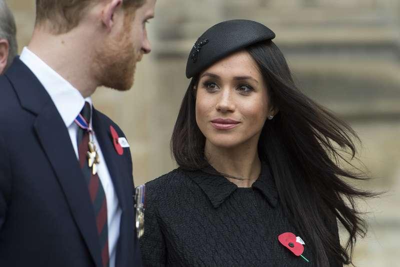 英國哈利王子與未婚妻梅根(Meghan Markle)將在5月19日舉行婚禮。(AP)