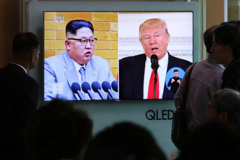 美國總統川普與北韓領導人金正恩預計5月底進行川金會(AP)