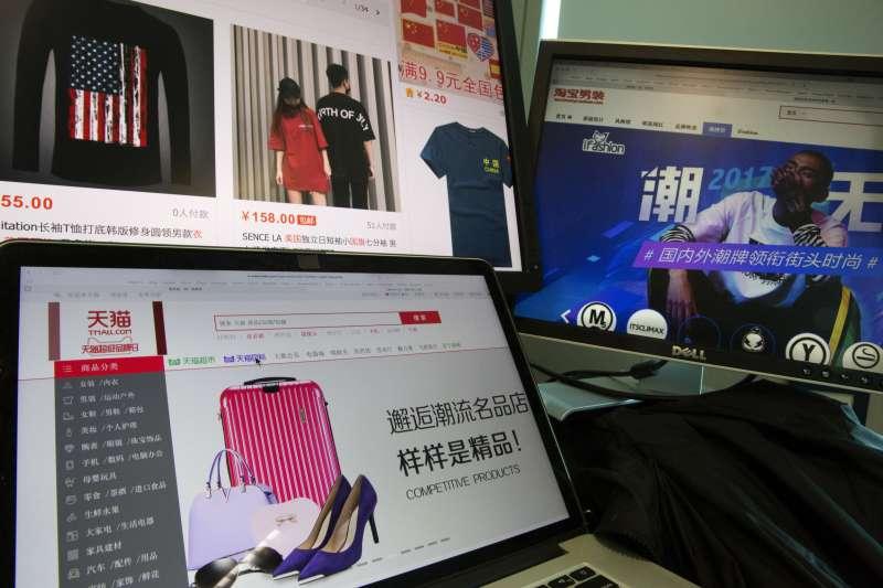 雙11中國消費者最喜歡的台灣品牌中,566名次較去年提升,進到前5名。示意圖。(資料照,美聯社)