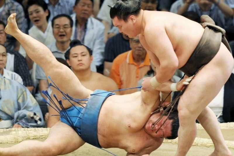 相撲在日本有逾千年的歷史。(BBC中文網)
