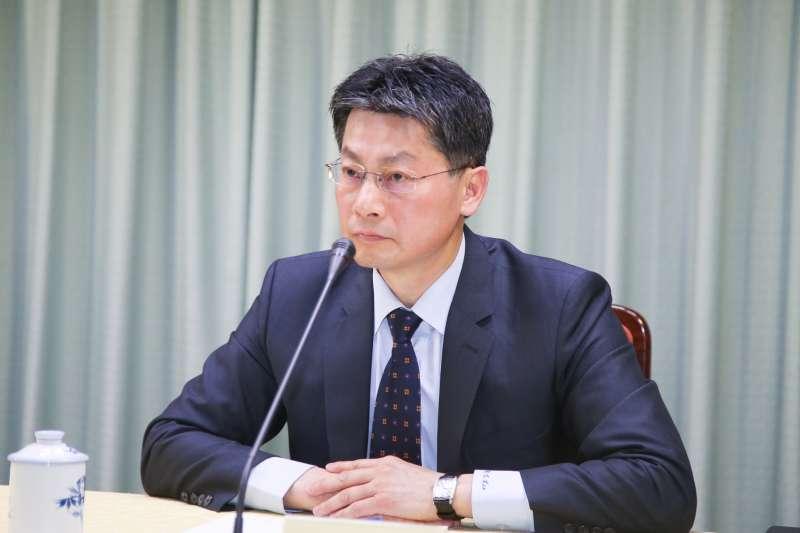 公眾外交協調會執行長兼外交部發言人李憲章(陳明仁攝)