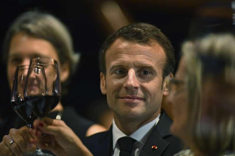 法國巴黎五一勞動節遊行:法國總統馬克宏強調不會放棄勞動法規改革(AP)
