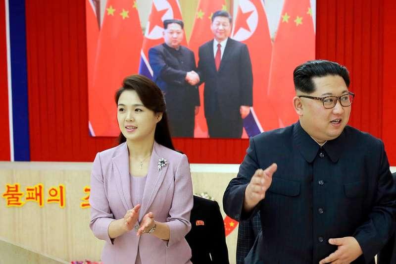 北韓第一夫人李雪主(AP)