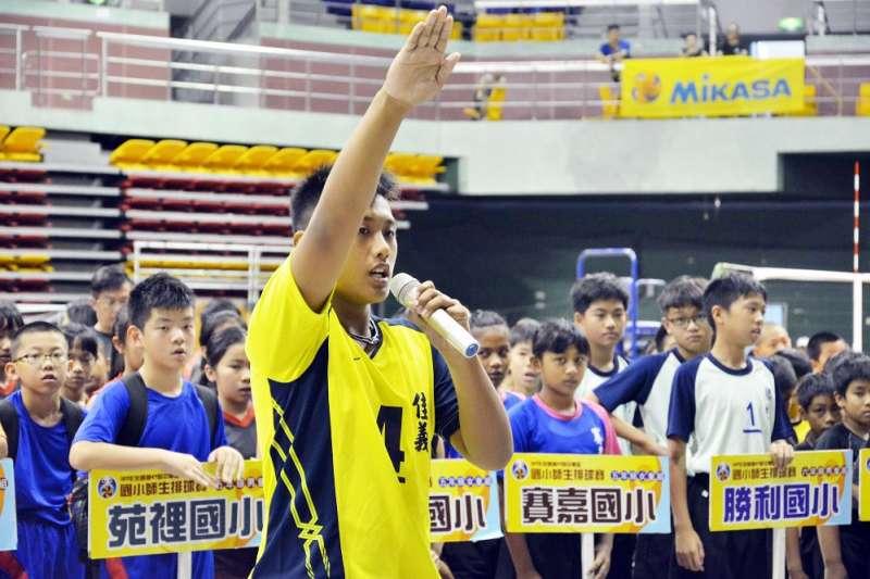 「全國第47屆中華盃國小師生排球賽」3日上午在屏東縣立體育館正式開幕。(圖/屏東縣政府提供)